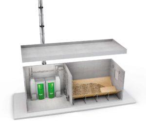 pelletlager kosten vorteile und nachteile einbautipps pelletpreise. Black Bedroom Furniture Sets. Home Design Ideas